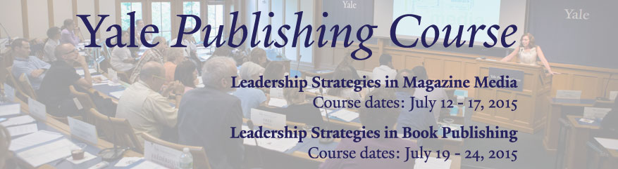 Yale Publishing Course 2015