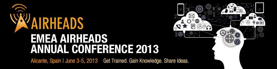 Airheads Conference EMEA 2013