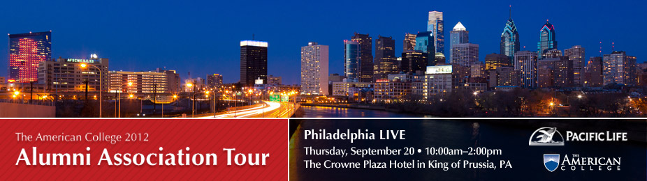The American College Alumni Association Tour 2012 - Philly Live