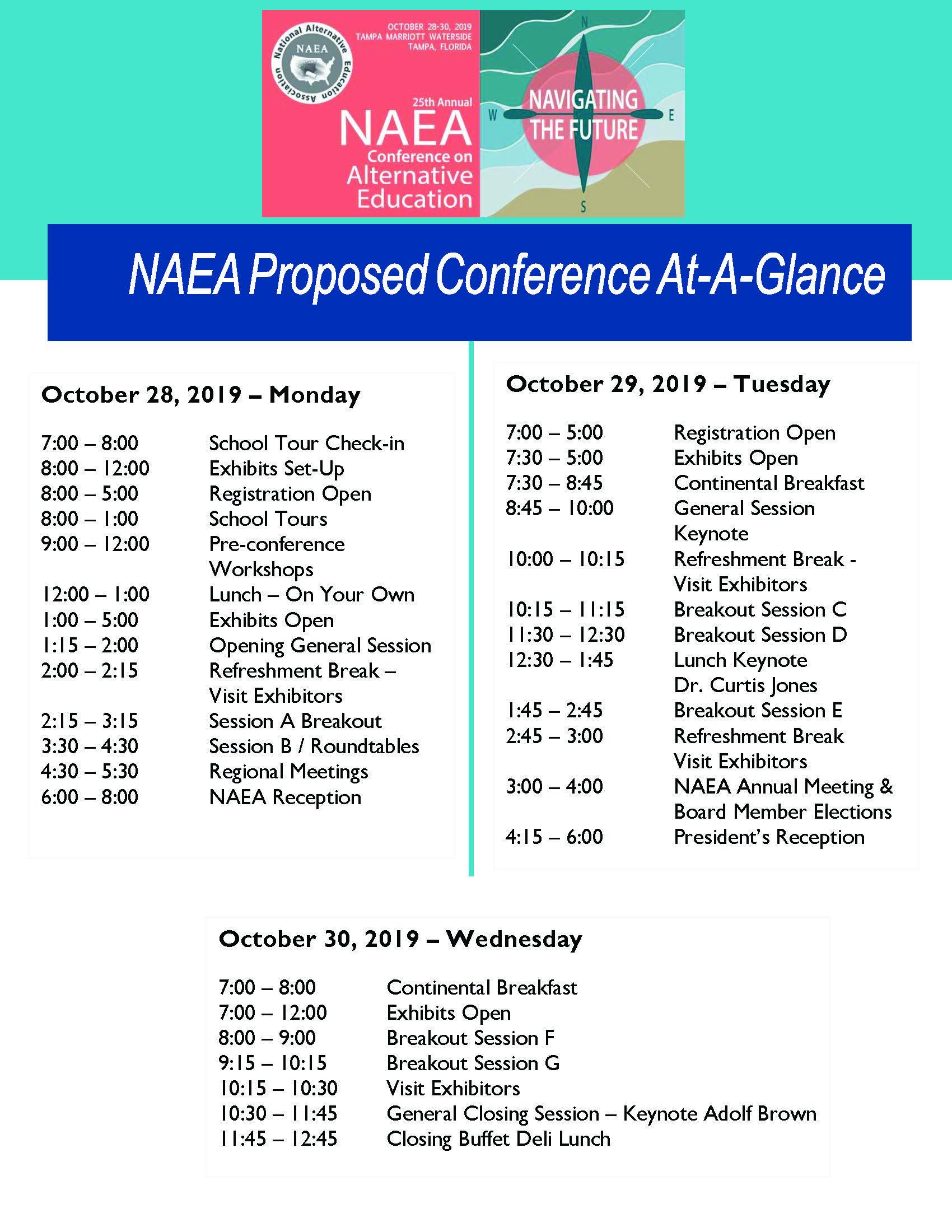 Proposed Conference Agenda2