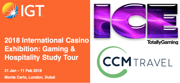 2018 ICE Gaming & Hospitality Study Tour