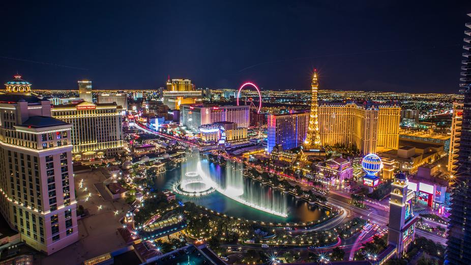 Copy of Vegas Strip - night time lights