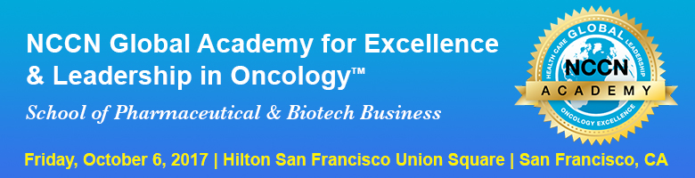 NCCN Global Academy for Excellence & Leadership in Oncology