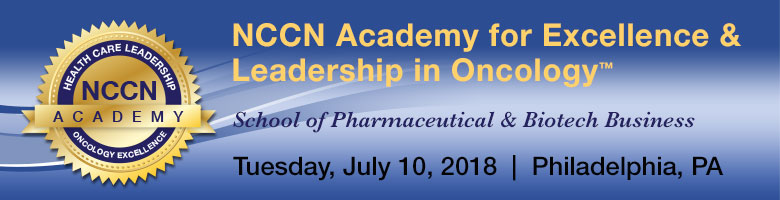 NCCN Academy for Excellence & Leadership in Oncology