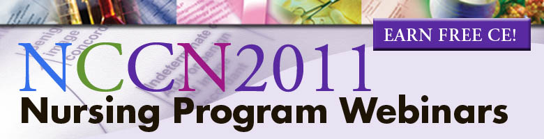 2011 Nursing Program Webinars_Web Header