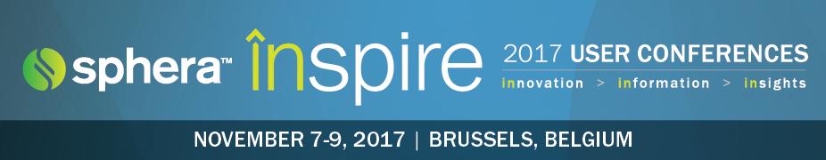 Sphera inspire EMEA 2017 User Conference
