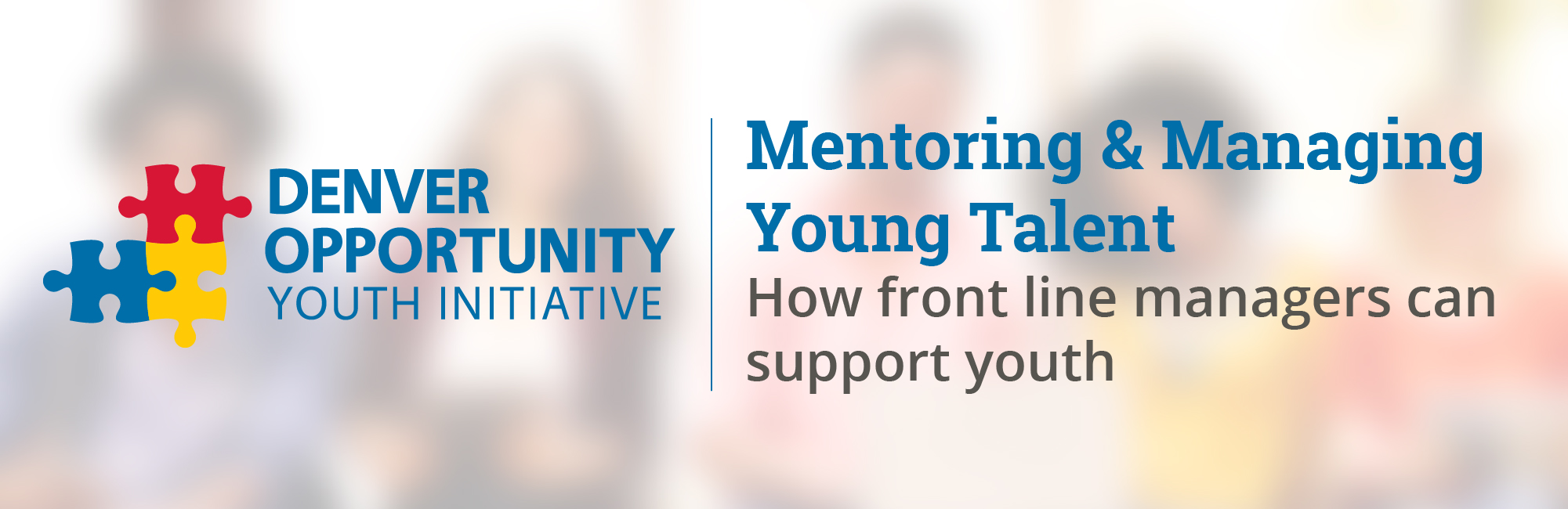 Mentoring & Managing Young Talent