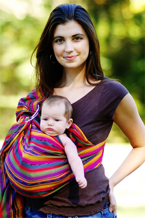 Mom with Baby in Sling