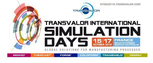 Transvalor International Simulation Days 2019