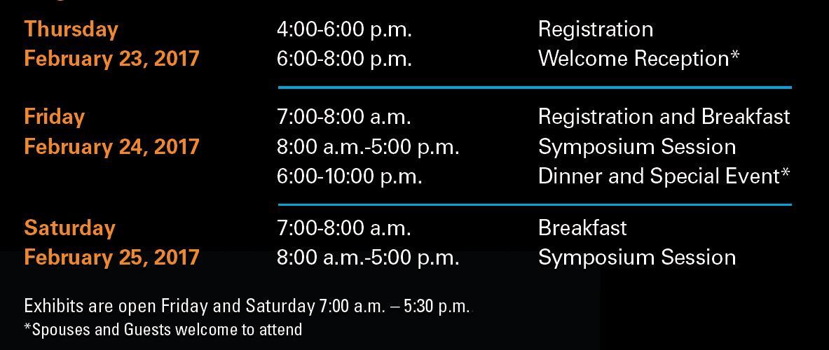 2017 HSO Symposium agenda pic