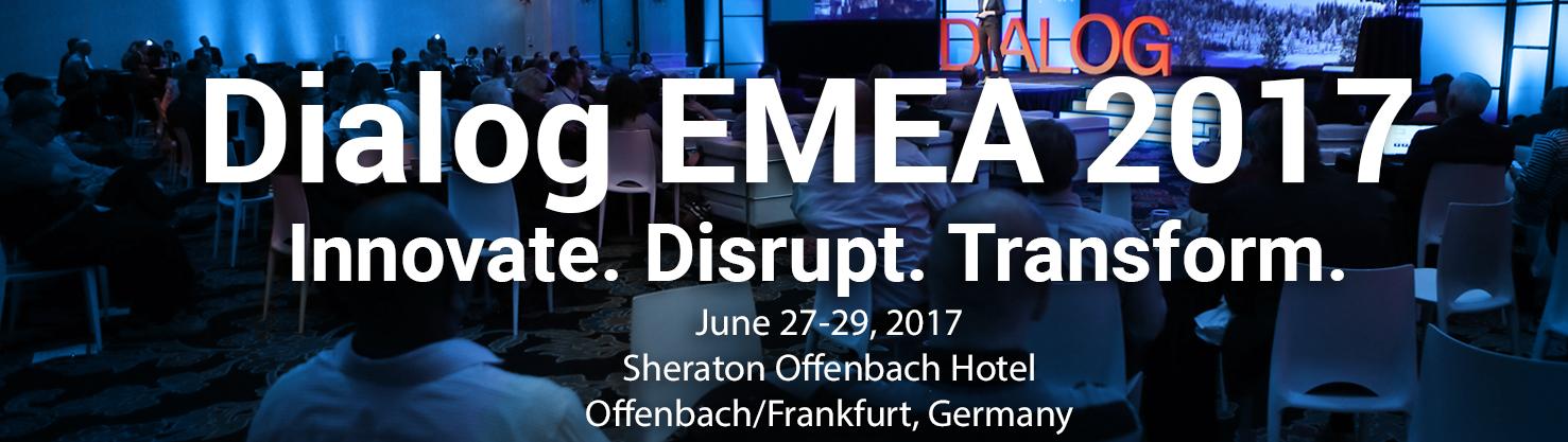 Dialog EMEA 2017