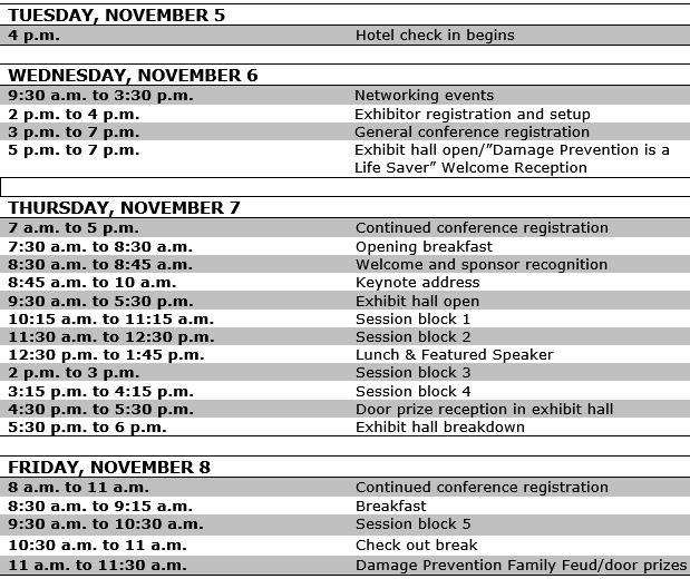 Schedule updated 7.17.19