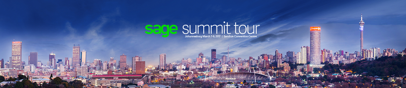 Sage Summit Tour - South Africa Sponsor Package