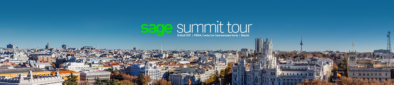 Sage Summit Tour - Madrid