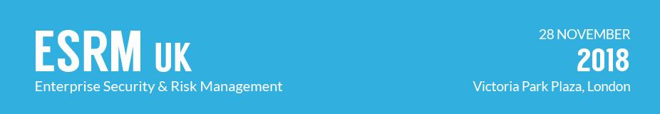 Enterprise Security & Risk Management UK 2018