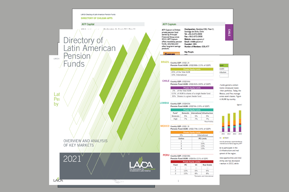 2021 Directory of Latin American Pension Fund Report