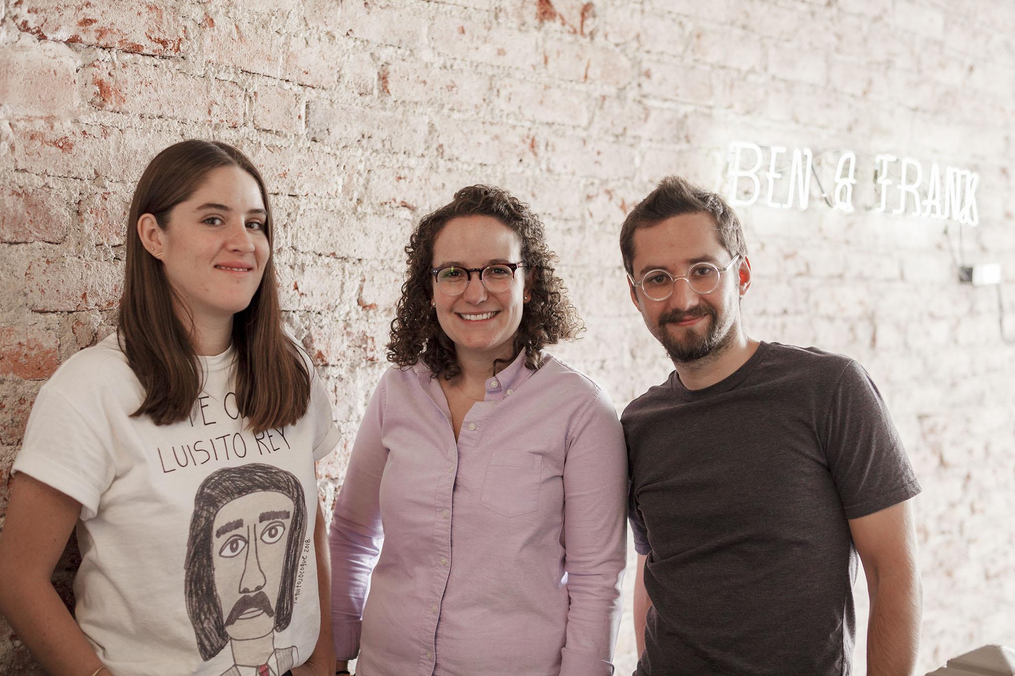 (Co-founders Maria Jose, Mariana Castillo, Eduardo Paulsen)