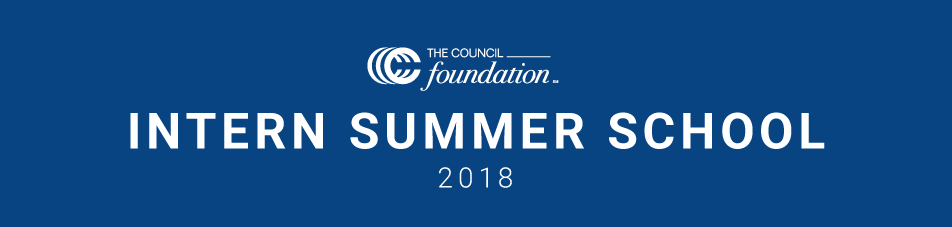 Intern Summer Curriculum 2018