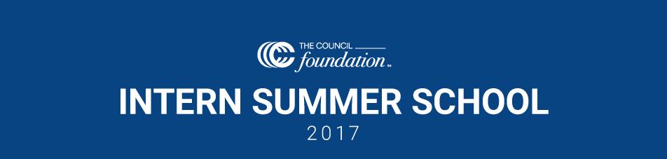 Intern Summer Curriculum