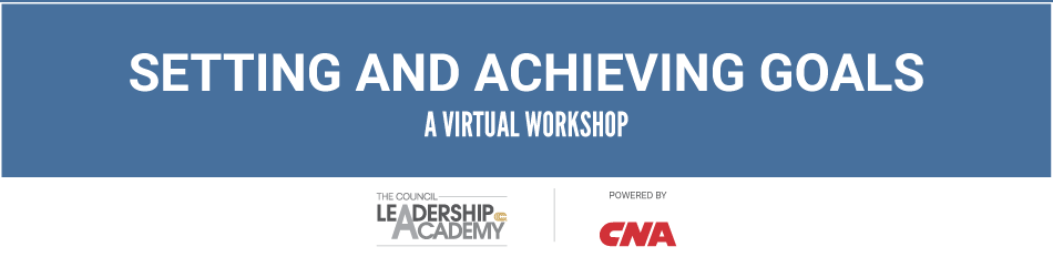 Virtual Workshop: Setting and Achieving Goals