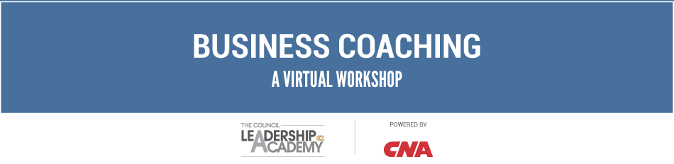VIRTUAL WORKSHOP: Business Coaching Fundamentals