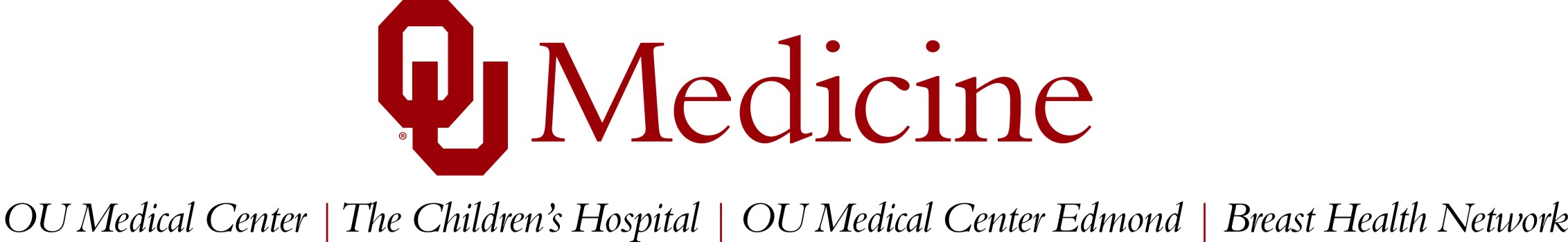 NEW - OU MEDICINE with facilities (horizontal)