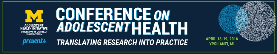 2016 Conference on Adolescent Health