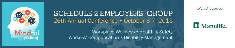 2015 Schedule 2 Employers' Group Conference