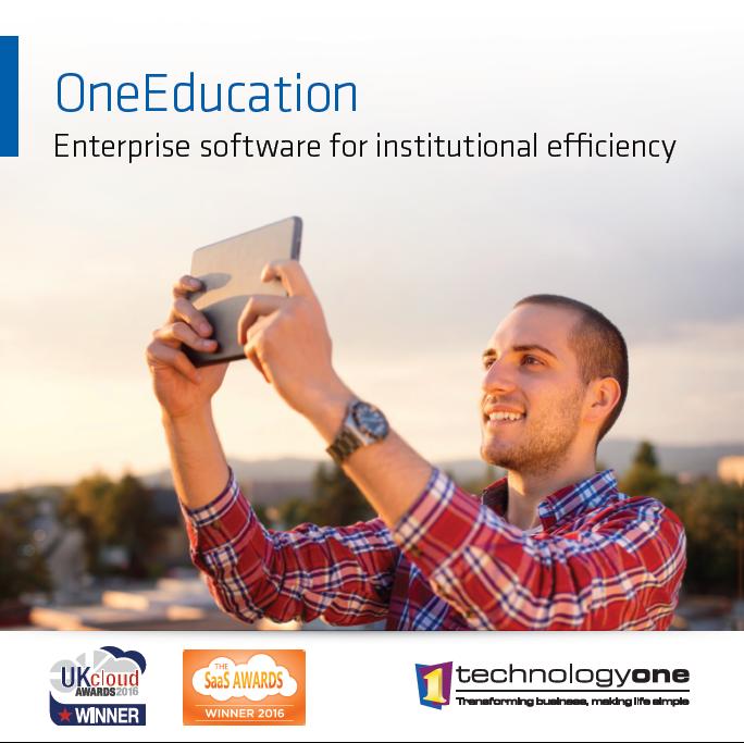 TechOne Educbooklet virtual satchel insert