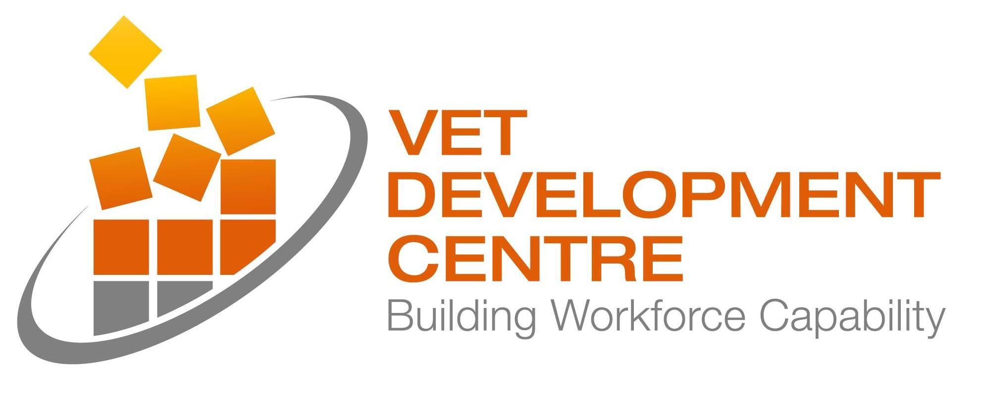 VET Development Centre Logo - colour