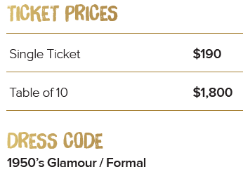 171018 Ticket Prices and Dress Code