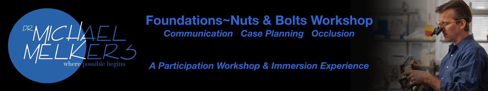 Nuts & Bolts~Foundations Hanover November 2018