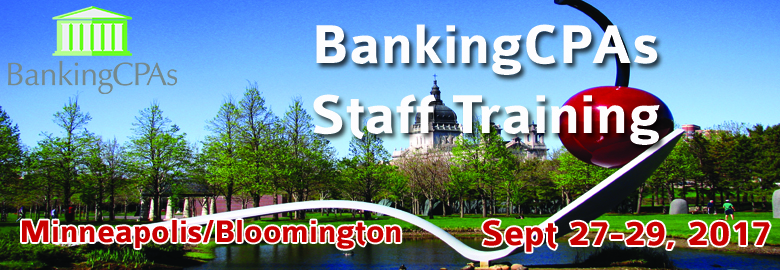 Banking CPAs Staff Training 2017