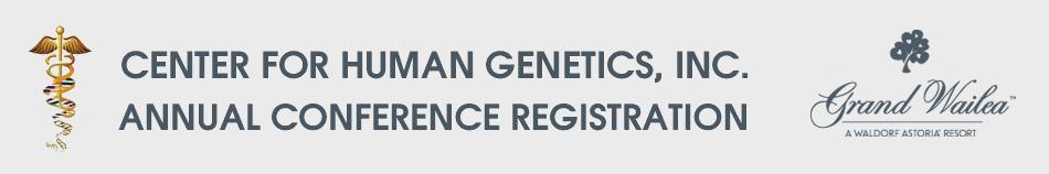 Center for Human Genetics 2018