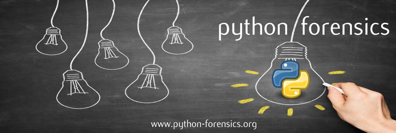 Python Forensics Web Logo
