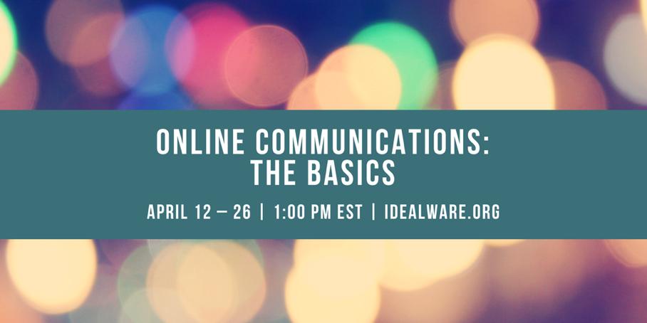 2018-04-12 Online Commmunications