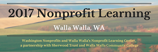walla walla nonprofit network meeting banner