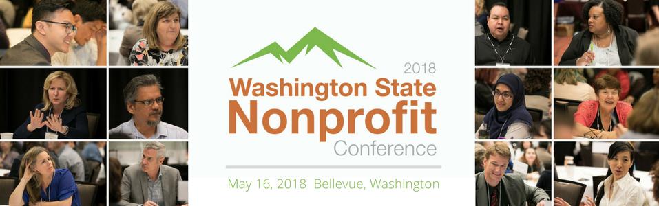 *BELLEVUE: 2018 Washington State Nonprofit Conference - EXHIBITOR/SPONSOR REGISTRATION