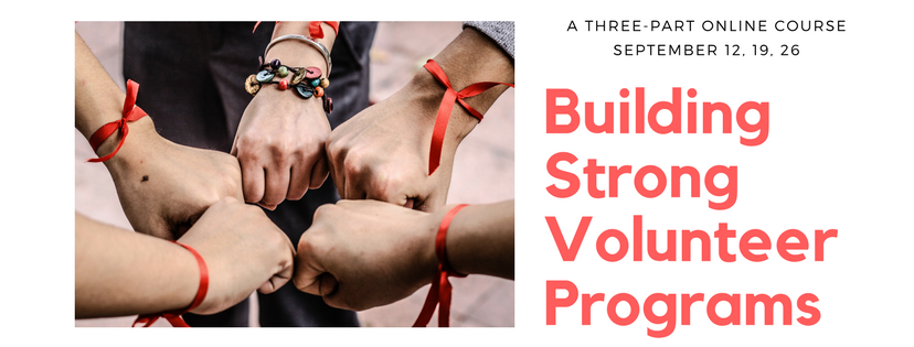 building strong volunteer programs