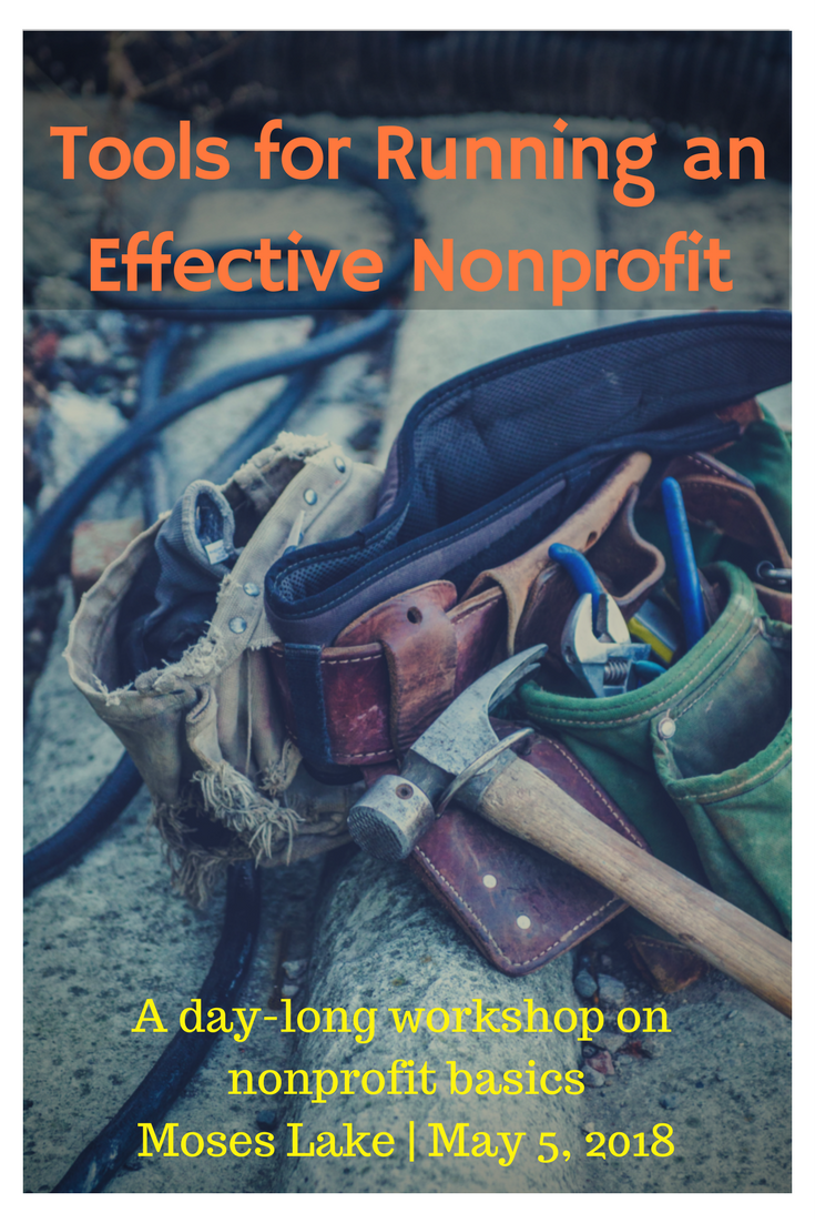 Moses Lake Tools for Running an Effective Nonprofit