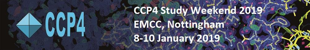 CCP4 Study Weekend 2019