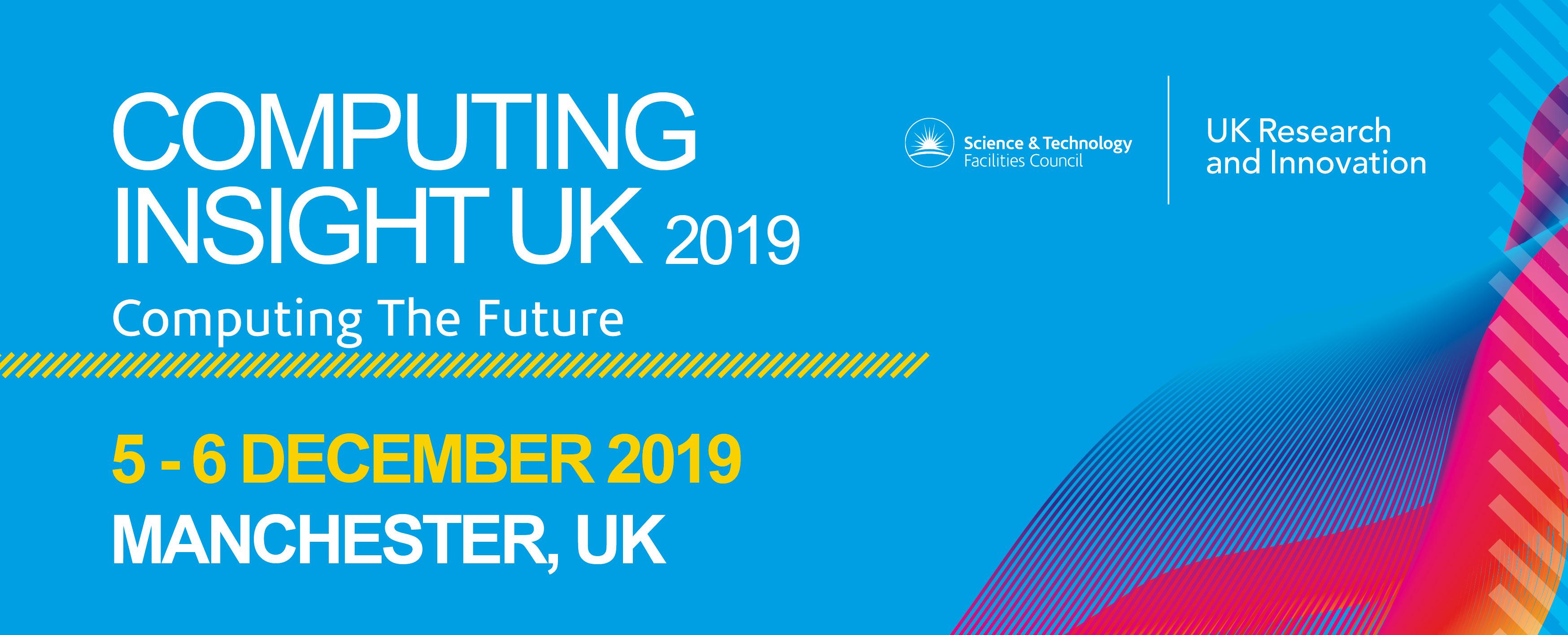Computing Insight UK 2019