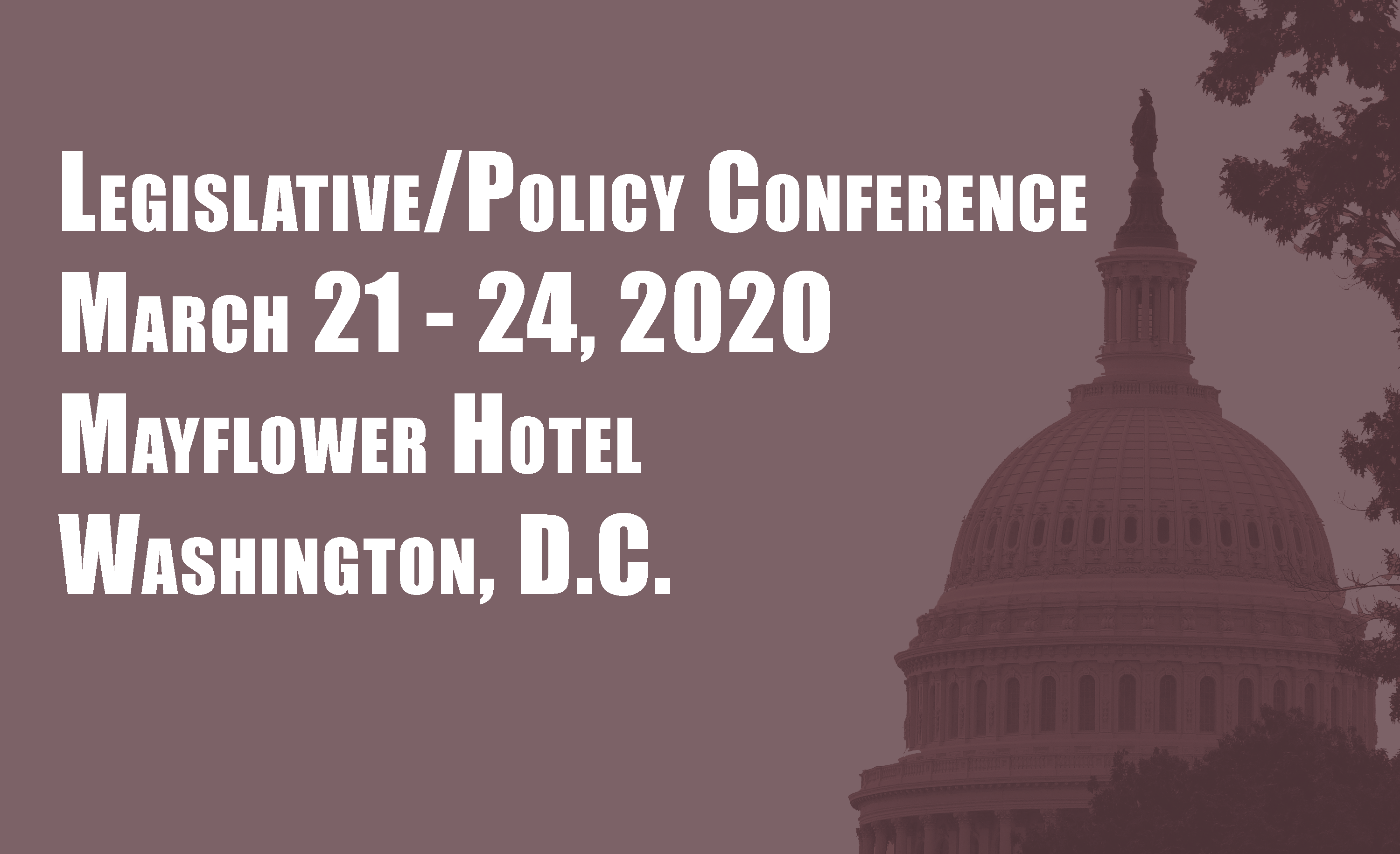 2020 Annual Legislative/Policy Conference
