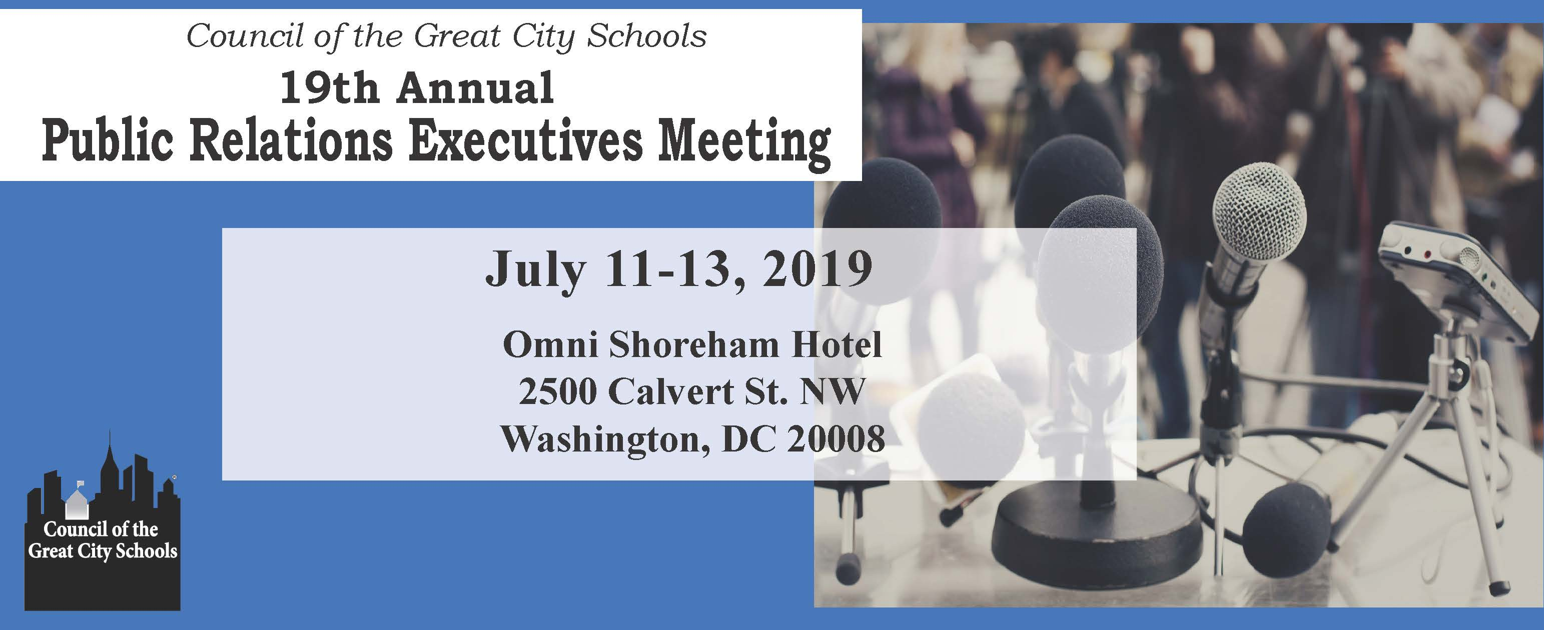 19th Annual Public Relations Executives Meeting