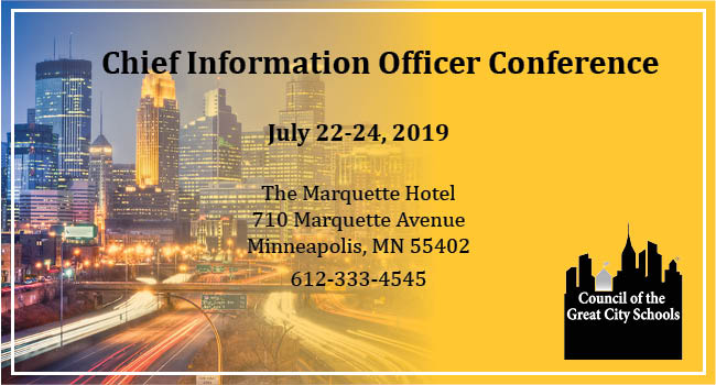2019 Chief Information Officers Annual Conference