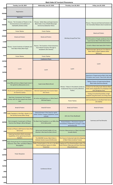 ngVLA18 program BH draft 5