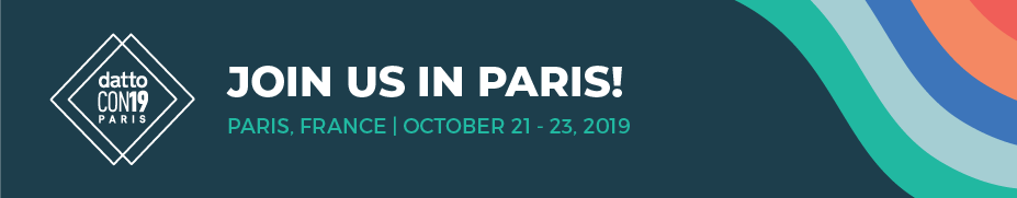 DattoCon19 Paris