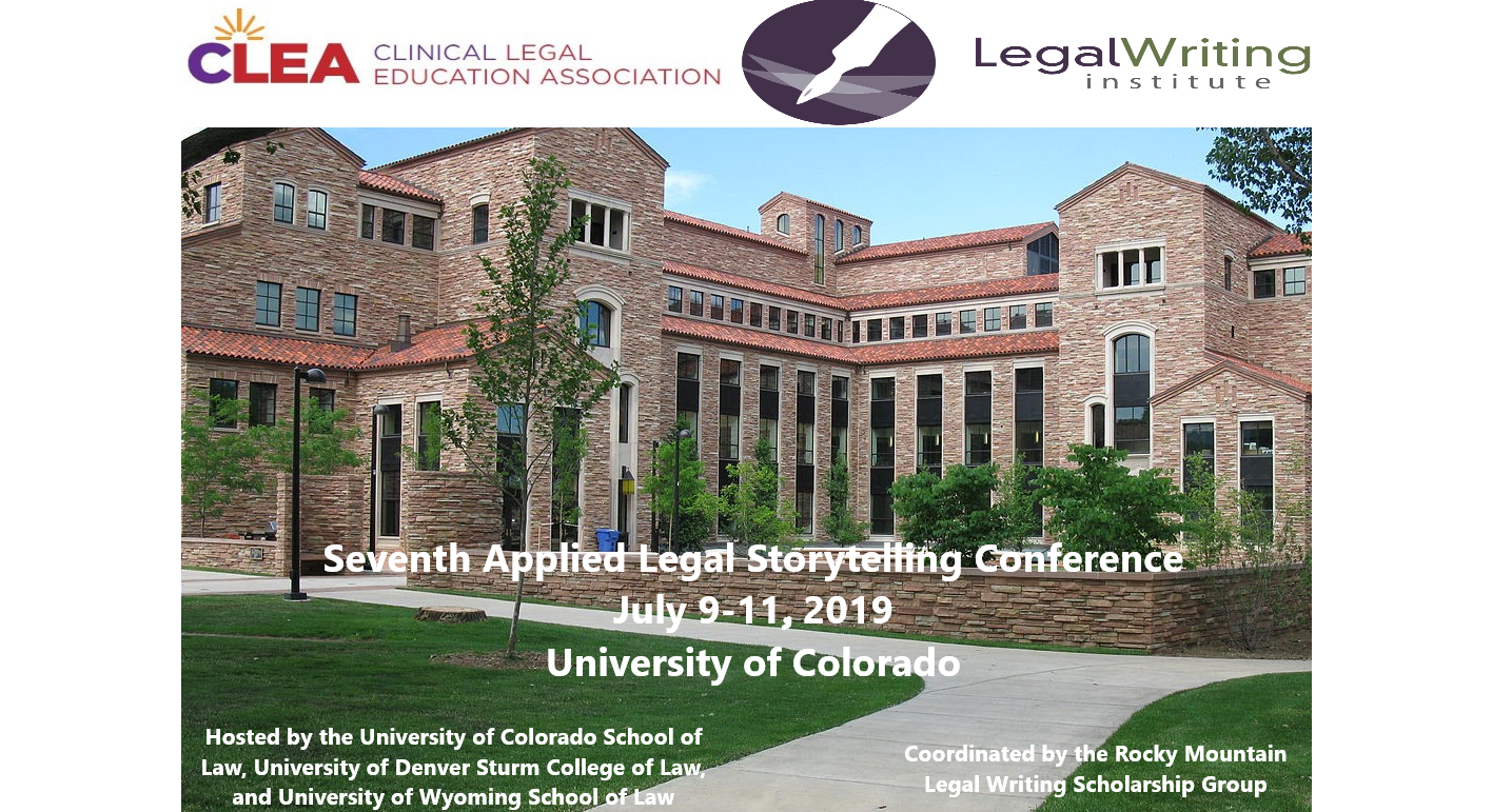 Seventh Biennial Conference on Applied Legal Storytelling