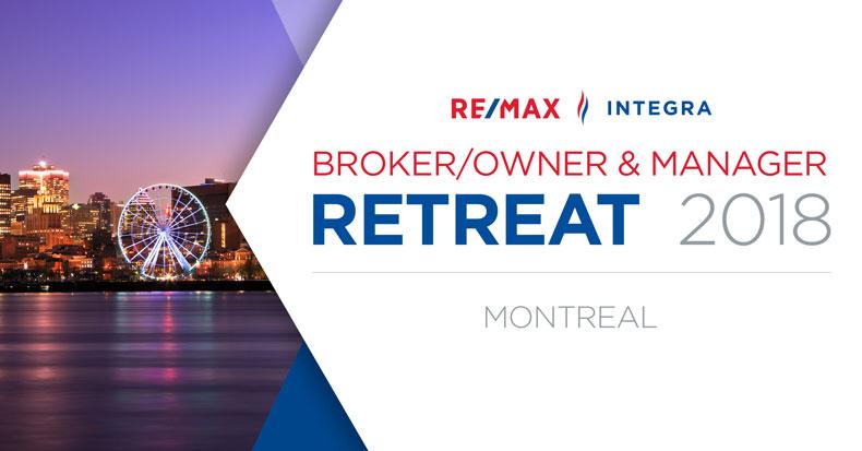 RE/MAX INTEGRA, Ontario-Atlantic Broker/Owner & Manager Retreat
