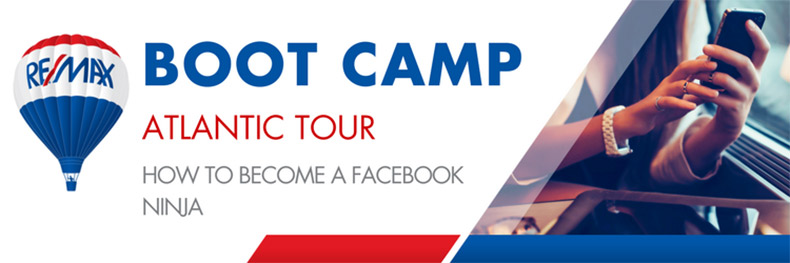 Atlantic Tour Featuring Bootcamp: How to Become a Facebook Ninja
